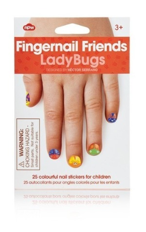 Fingernail Friends - Ladybugs