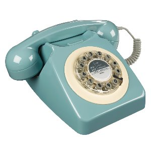 Retro Telefon - French Blue