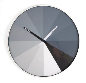 WALL CLOCK ULTRA FLAT BW