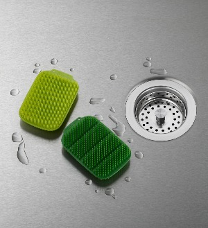 CleanTech Washing-up Scrubber- četke za pranje sudova (zelene)